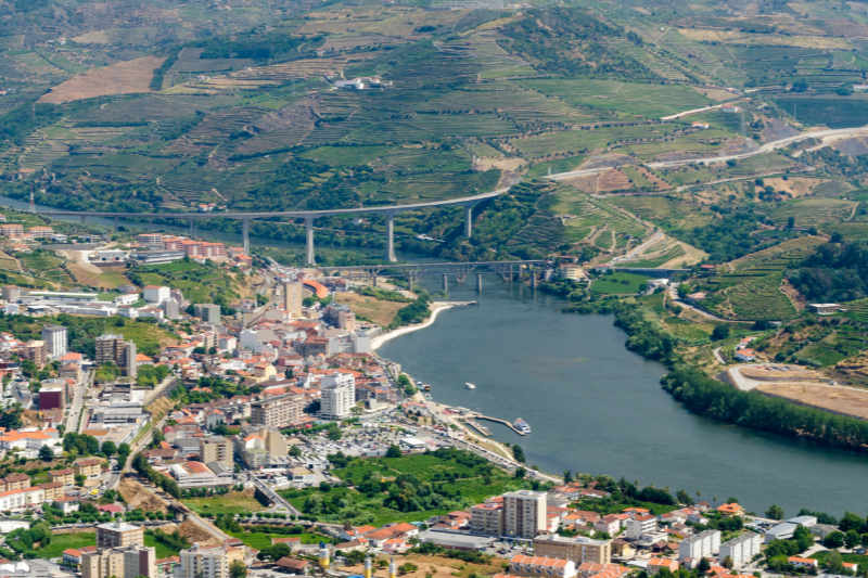 Peso da Régua and the Douro River